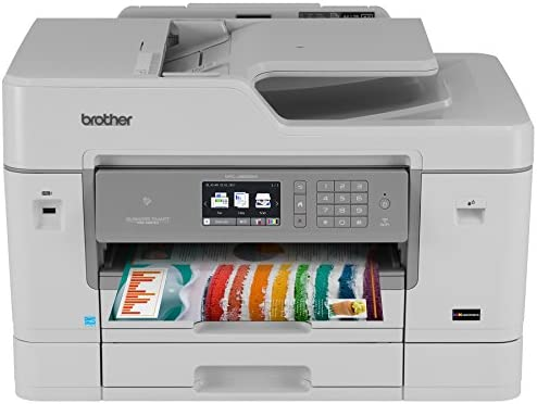 Brother MFC-J6935DW Inkjet All-in-One Color Printer, Wireless Connectivity, Automatic Duplex Printing, Amazon Dash Replenishment Enabled
