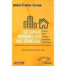 Le droit immobilier au Sénégal - foncier, vente, location, urban