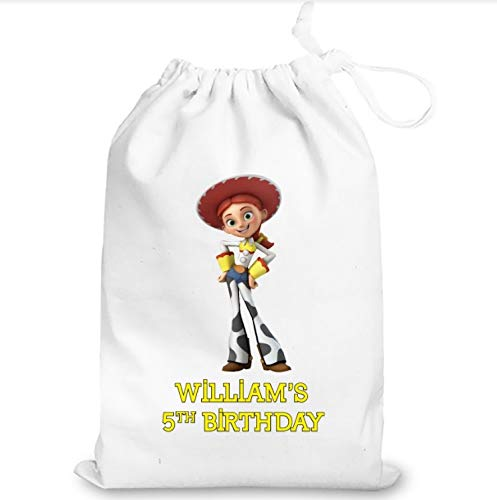 IFB- Toy Story Jessie gifts Favor Bags Birthday Goodie Bags, Toy story party supplies birthday, Party favours for kids.