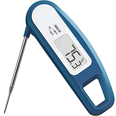 Ultra Fast & Accurate, High-Performing Digital Food/Meat Thermometer - Lavatools Javelin/Thermowand (Indigo)