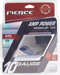 Fierce Audio 10awg Power Installation Kit - FKSC10 ()