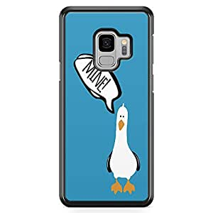 Loud Universe Blue Seagull finding Nemo Samsung S9 Case Seagull Art work Samsung S9 Cover with Transparent Edges