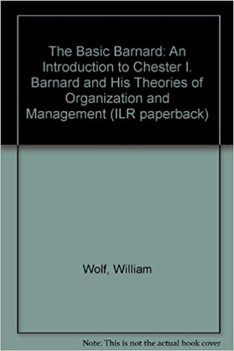 chester bernard theory of management thoughts This paper explores the influences of chester barnard on blake and mouton's leadership-management network, hersey-blanchard's situational leadership and maslow's motivational theory, as well as on organisational purpose, communication and team work.