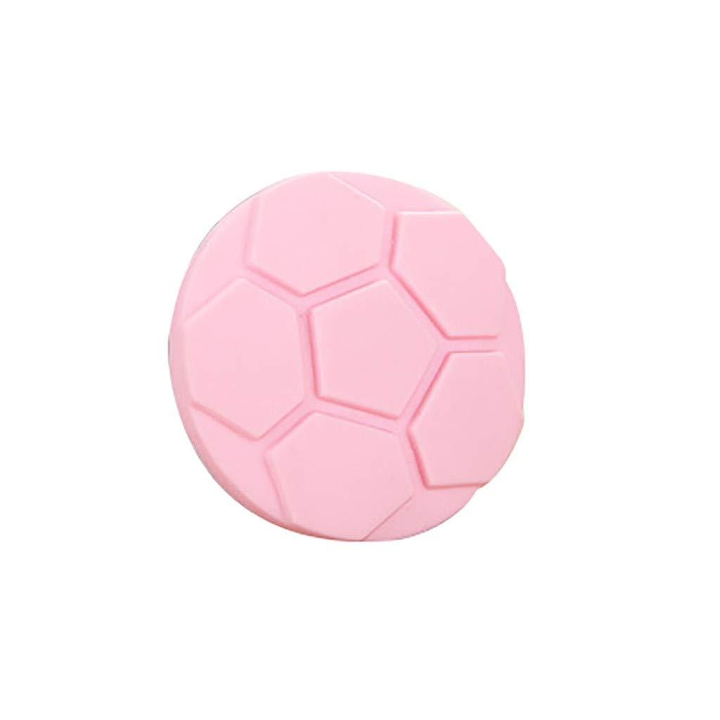 S.H.EEE Sphere Door Knob Back Wall Protector Shckproof Crash Pad Silent Pad (Pink)
