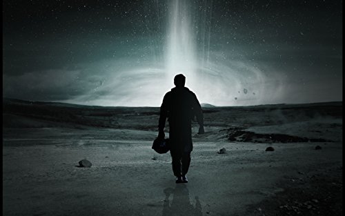 Interstellar 2014 Movie poster family silk wall print 40 inch x 24 inch
