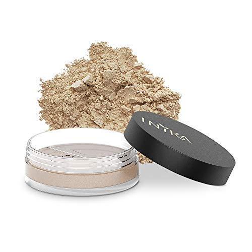 INIKA Loose Mineral Foundation Powder SPF25 All Natural Make-Up Base, Concealer, Flawless Coverage, Water Resistant, Hypoallergenic, Halal, 8g (0.28 oz) (Nurture)
