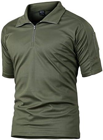 Camisa de Combate para Hombres Caza táctica Militar Polo de Manga Corta Held Airsoft Camuflaje Camiseta Uniforme táctico Ropa Deportes al Aire Libre para Multicam Verde x-Small: Amazon.es: Ropa y accesorios