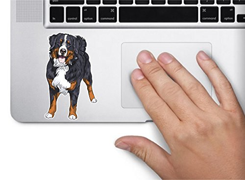 Dog bernese mountain dog 3.5x2.1 inches sticker decal die cut vinyl - Made and Shipped in -