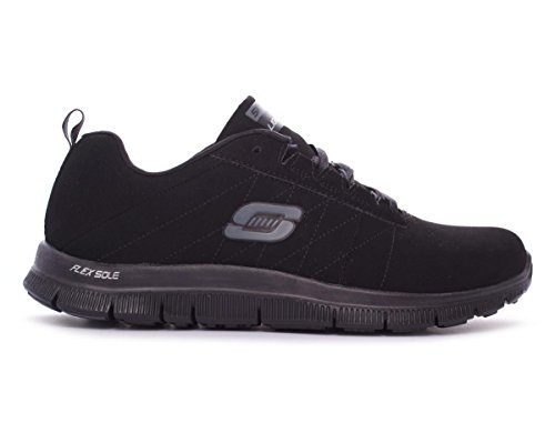 Skechers 11739/BBK - Zapatillas de Piel Lisa para mujer