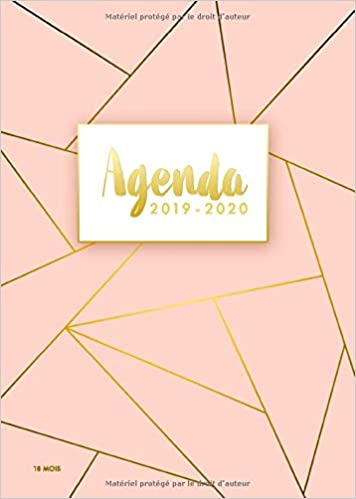 Amazon.com: Agenda 2019/2020 - 18 Mois: Agenda organiseur ...