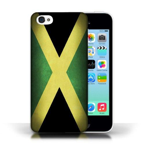 iCHOOSE Print Motif Coque de protection Case / Plastique manchon de telephone Coque pour Apple iPhone 5C / Collection Drapeau / Jamaïque/jamaïcain