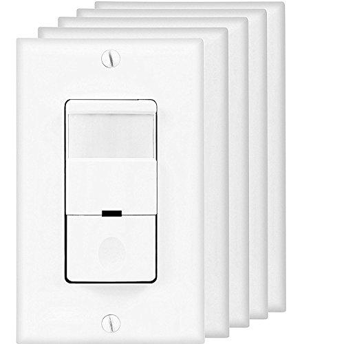 Top Greener Tdos5 W 5pcs Occupancy Sensor Switch Pir