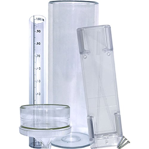 Stratus Precision Rain Gauge with Mounting Bracket (14