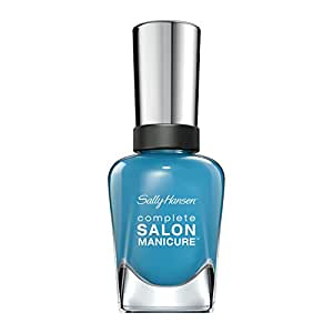 Sally Hansen Complete Salon Manicure, Blue Chip, 0.5 Ounce