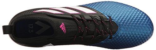Adidas Menns Ess 17,3 Primemesh Fast Grunn Cleats Fotball Sko Svart / Hvit / Satellitt