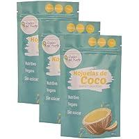 Hojuelas de coco sin azúcar (3 paquetes) 120g/ Raíces del Huerto