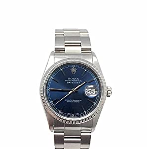 Rolex Datejust swiss-automatic mens Watch 16220 (Certified Pre-owned)