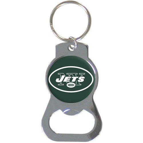 Logo Sports Bottle - Siskiyou NFL New York Jets Bottle Opener Key Chain