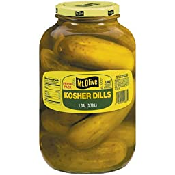 Mt. Olive - Kosher Dill Pickles - 128-Fl. Oz. (1 Gallon) Jar