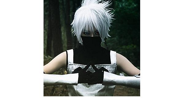 Naruto - kakashi Hatake - con chaleco/T-Shirt-Manga ...