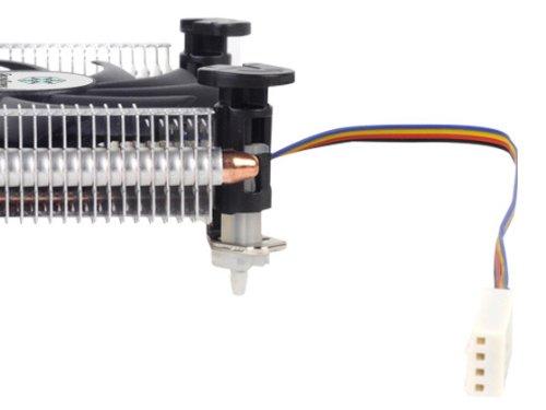 Silverstone Super Profile Cooler Intel 80mm Fan Copper Heat