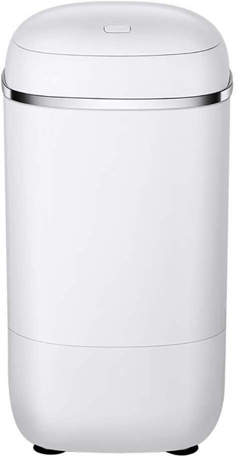 HIGHKAS Mini Lavadora, Lavadora de Barril Individual portátil Lavadora de Ropa rotativa para el hogar Cesta de Drenaje 4.5kg/9.9lbs Capacidad de Lavado