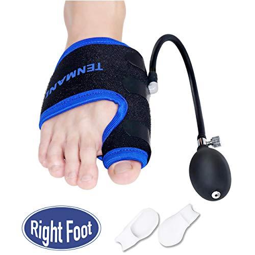TENMAND Adjustable Orthopedic Bunion Corrector Splints Toe Straightener/Right...