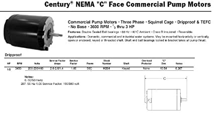 41emcdiUeeL._SX425_ century electric motor wiring diagram t1052 simple wiring diagram