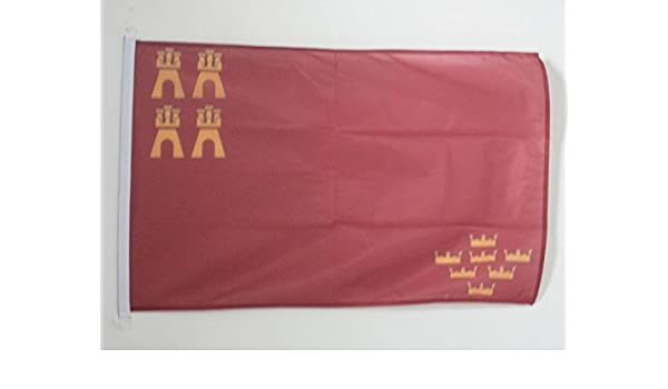 AZ FLAG Bandera de la REGIÓN DE Murcia 90x60cm Uso Exterior ...