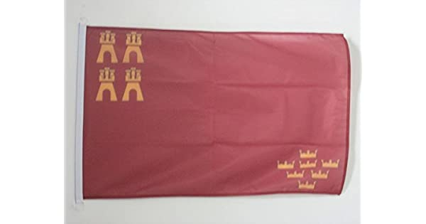 Amazon.com: AZ FLAG Murcia Bandera náutica 18.0 in x 12.0 in ...