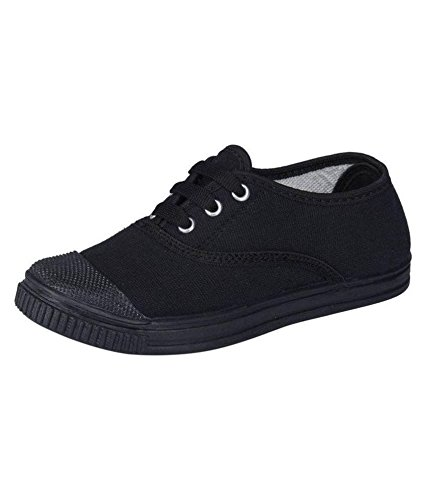Pollo Boys Tennis Black School Shoe  Buy Online at Low Prices in ... ab4e1d601