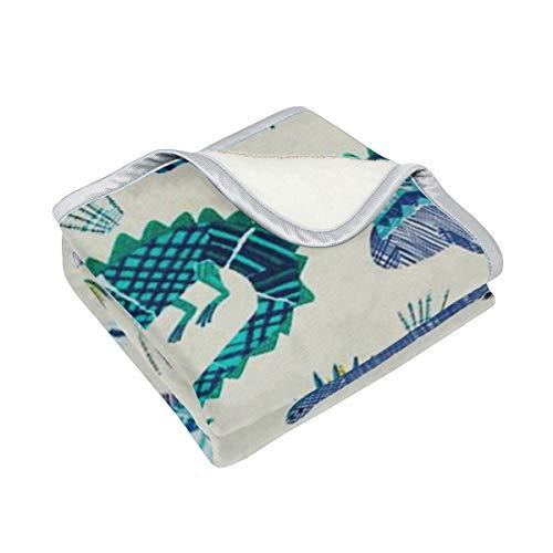 (Gaz X Luxury Fluffy Blanket Croc Rock Twill Marine Super Soft Cozy Lightweight Warm All Season Throw for Bed Couch Sofa Microfiber Solid Blanket Travelling Camping Blanket,60