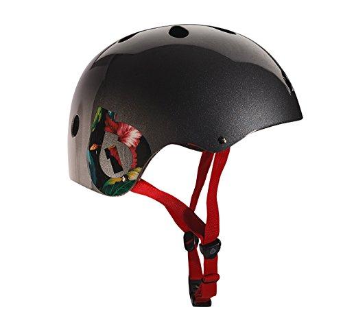 - 661 Dirt Lid Plus Helmet Grey CPSC Certified One Size Fits All - for Skateboard BMX Longboard Inline