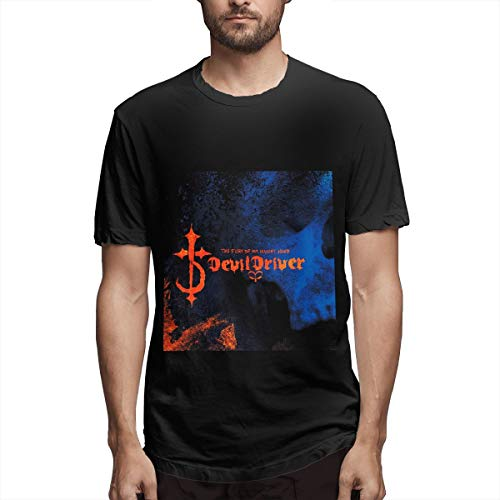DevilDriver The Fury of Our Maker's Hand O-Neck T Shirts Short Sleeve Tee Black
