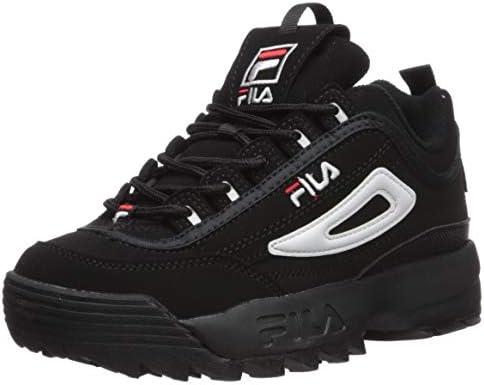 Fila Disruptor III Sneaker, Black/White