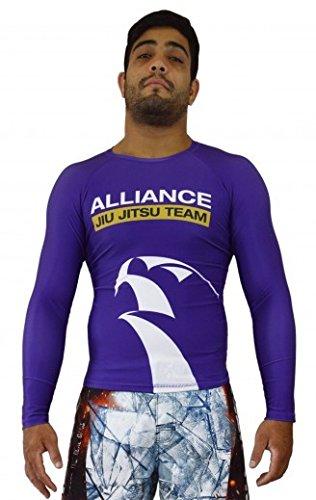 KEIKO SPORTS Alliance Rashguard L/S - Purple - Small
