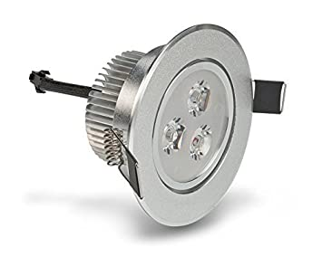 LEDQuant 3 Watt Dimmable Recessed LED Lighting Fixture with Driver Recessed Downlight Warm White  sc 1 st  Amazon.com & LEDQuant 3 Watt Dimmable Recessed LED Lighting Fixture with Driver ... azcodes.com