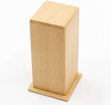 Compra YJXTYP Casa y jardín Creativa palillo de Dientes Caja de Madera Toothplate Tanque Restaurante Can Toothpick Toothpick algodón Caja palillo de Dientes en Amazon.es
