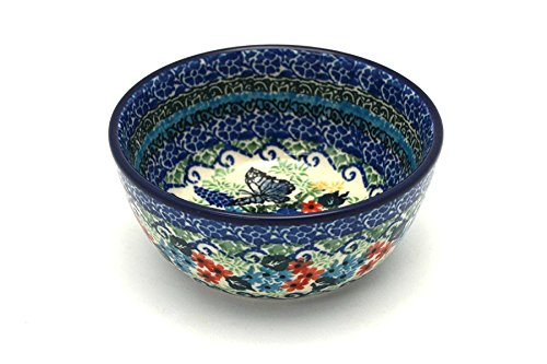 Polish Pottery Bowl - Ice Cream/Dessert - Unikat Signature ()