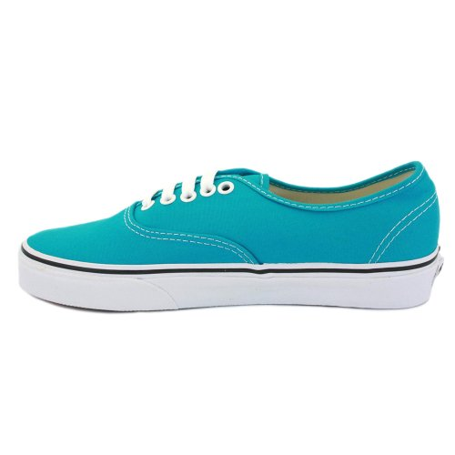 Vans Authentic NJV5TV Womens Canvas Laced Trainers Peacock - 6 ...