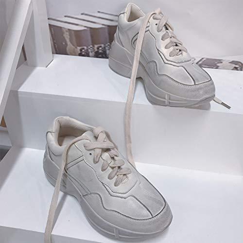 Interiores De Zapatos Viejos Sucios Beige Pequeños Estudiante Plataforma Viejo Retro Shoes Y Ocio Deportes wP6P8qE