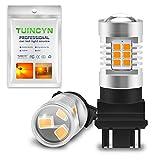 TUINCYN 3157 3157CK 3156 LED Turn Signal Light Bulbs Amber 3047 3057 3057A