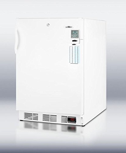 Summit VT65 Upright Freezer, White by Summit