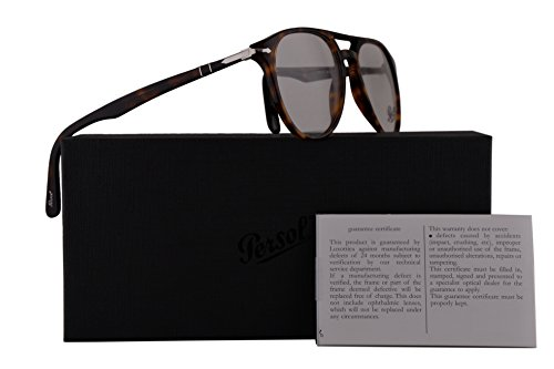 Persol PO3160V Eyeglasses 52-18-145 Havana w/Demo Clear Lens 9015 PO 3160-V PO3160-V PO - Buy Persol Eyeglasses