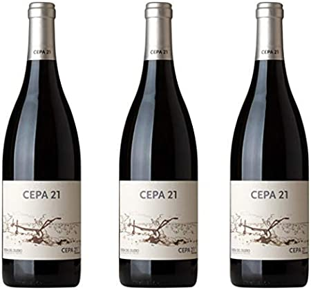 Cepa 21 Vino tinto - 3 botellas x 750ml - total: 2250 ml