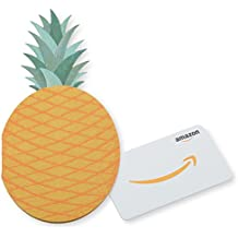 Amazon.com Gift Card in a Pineapple Sleeve
