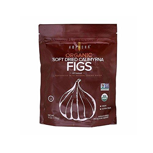 Dried Fig - Organic Non GMO No Sugar Added Dry Figs - Turkish Calimyrna Fruit by Amphora International (Fresh Fig Tart)