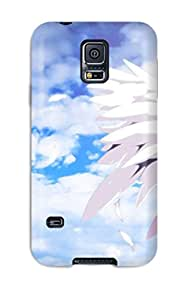 High-end Case Cover Protector For Galaxy S5(angel Beats)