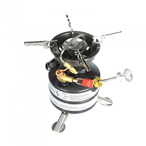 Alfresco Integrated Stainless Steel Camping Oil Stove