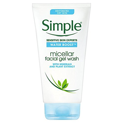 Semplice acqua Micellare Boost Facial gel Wash 148 ml Brand Simple